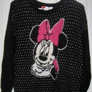 H&M Divided Disney Women's Small Minnie Mouse Blac